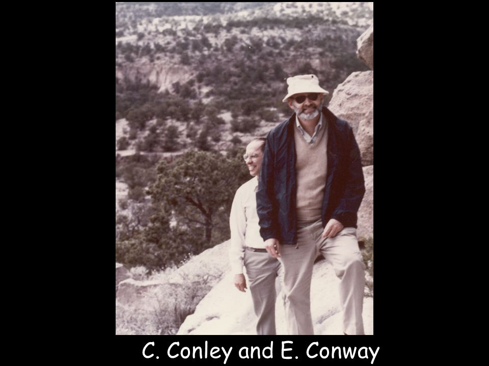 C. Conley and E. Conway