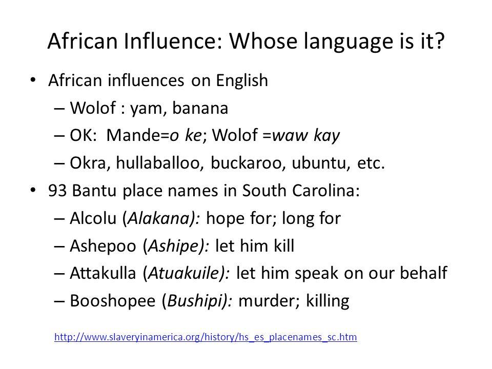 II.Who Speaks.