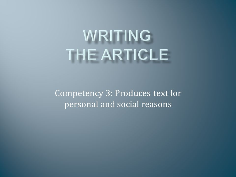 An ANALYSIS stems from the writer's authority and expertise in the subject area, but, is not a vehicle for personal view (see Opinion Column); should pursue an angle or line of argument, based on facts or data.