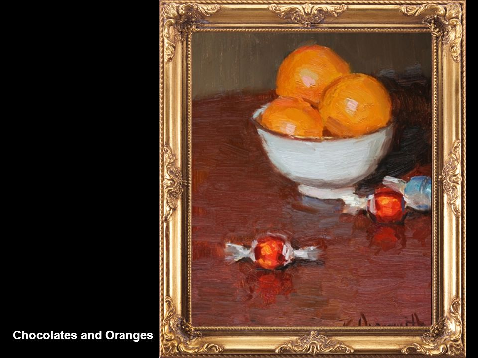 Oranges and Pewter