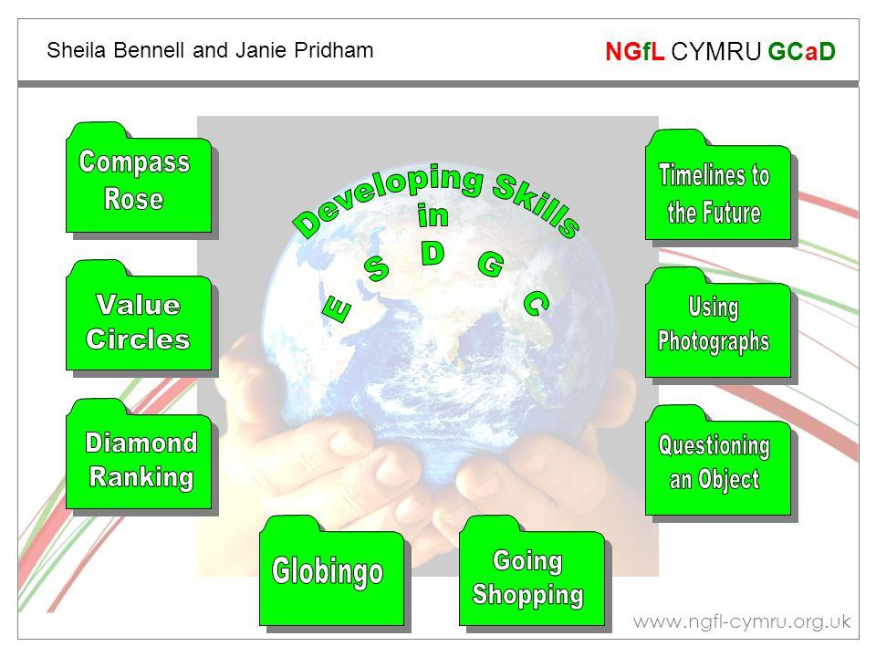 www.ngfl-cymru.org.uk NGfL CYMRU GCaD Sheila Bennell and Janie Pridham