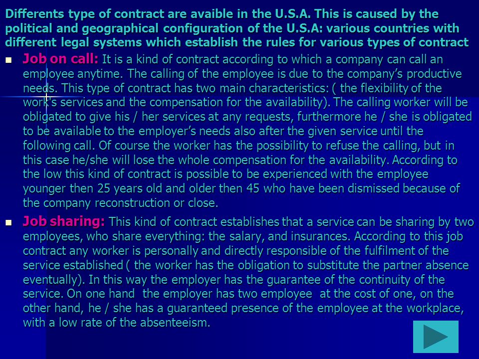 Staff leasing: It is a kind of mobile job.