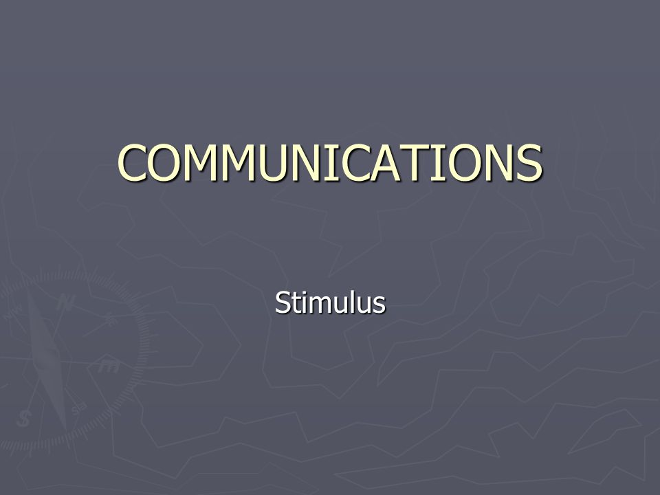 ROLE OF STIMULUS A receptor is a specialized structure that can detect a specific stimulus and initiate a response.