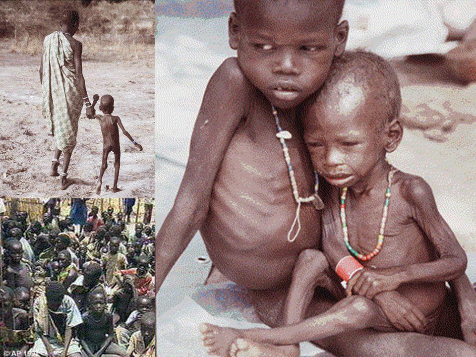 Sudan, A country in famine.