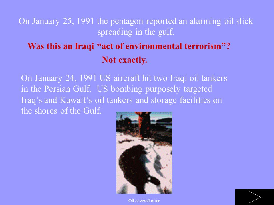 NUCLEAR AND CHEMICAL FALLOUT During the Gulf war, the US attacked 18 chemical, 10 biological, and 3 nuclear plants. The result of these attacks were i