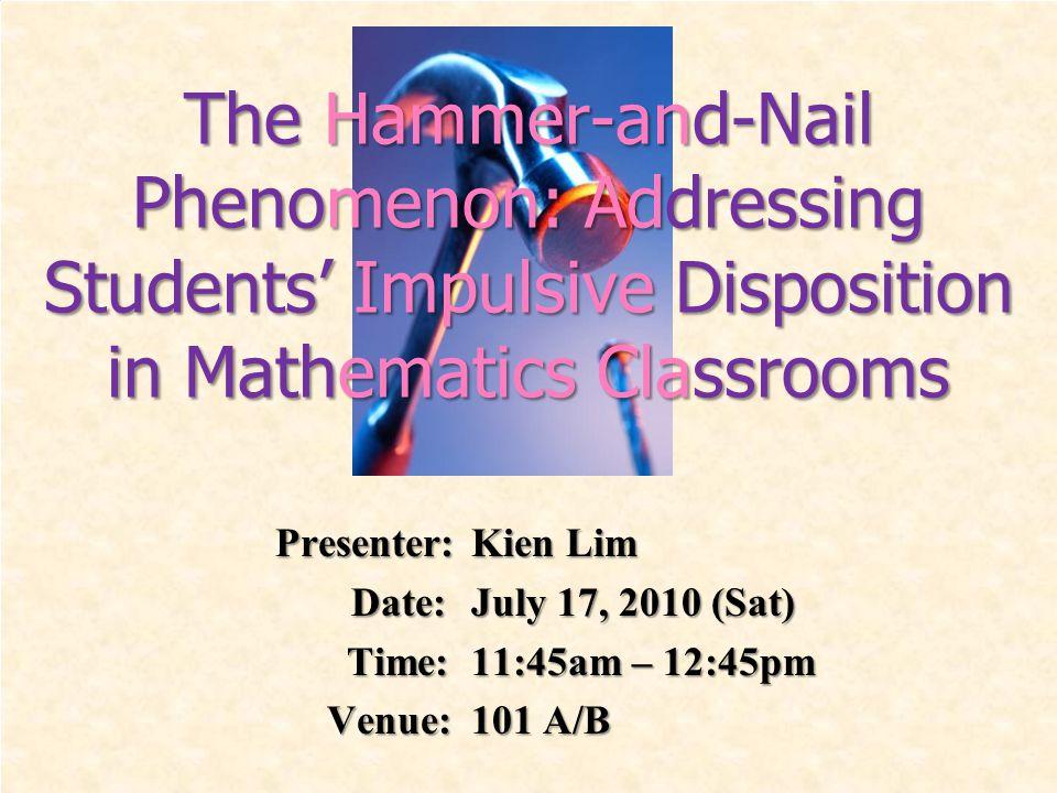 Presenter: Kien Lim Date: July 17, 2010 (Sat) Date: July 17, 2010 (Sat) Time: 11:45am – 12:45pm Time: 11:45am – 12:45pm Venue:101 A/B Venue:101 A/B Th