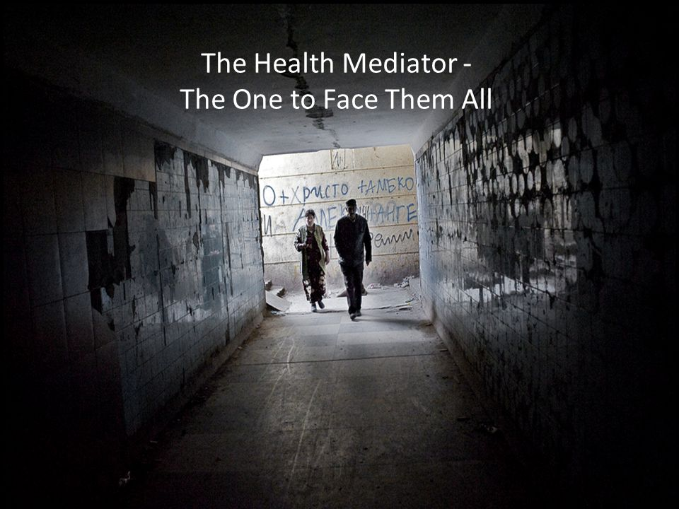 The Health Mediator - The One to Face Them All
