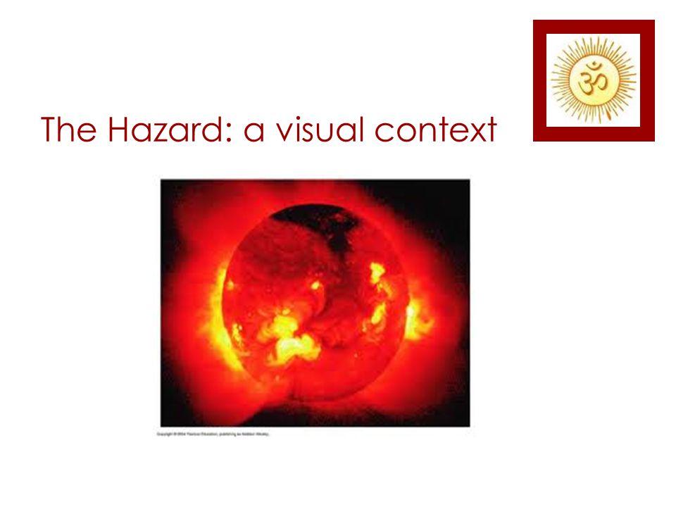 The Hazard: a visual context