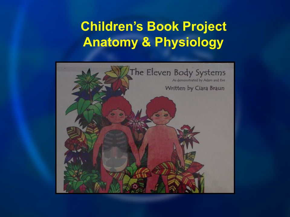 Children's Book Project Anatomy & Physiology