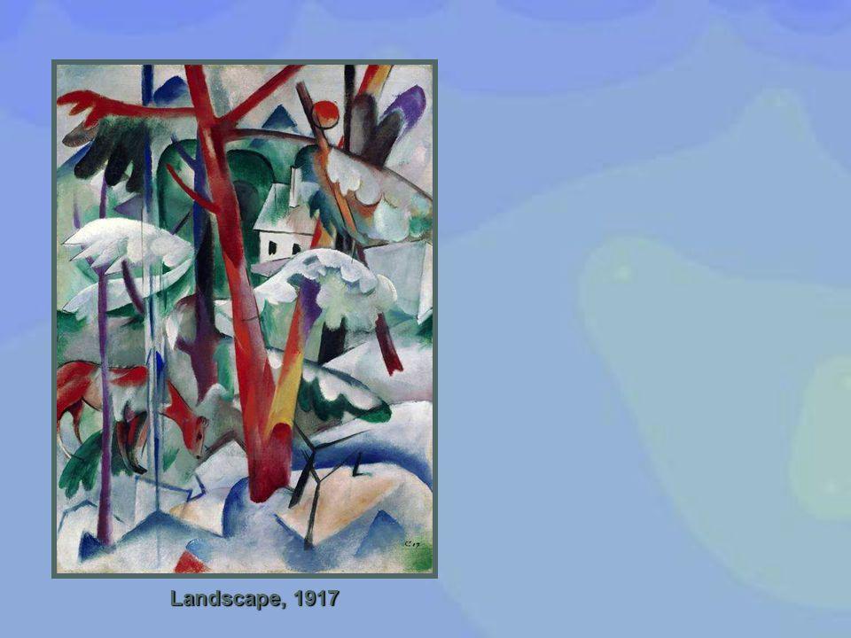 Landscape, 1917
