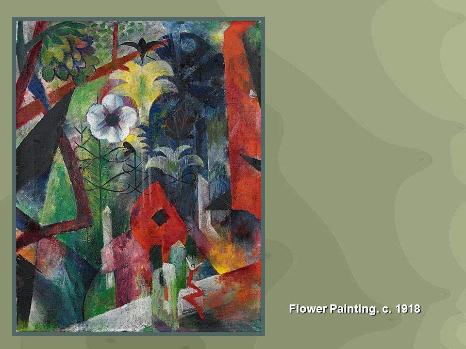 Flower Painting. c. 1918