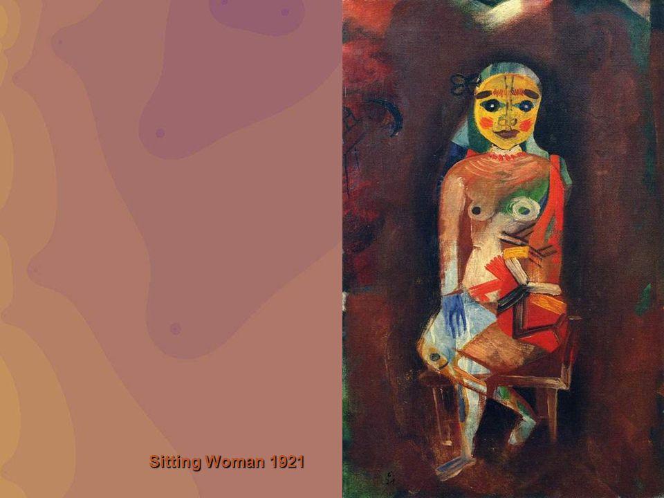 Sitting Woman 1921