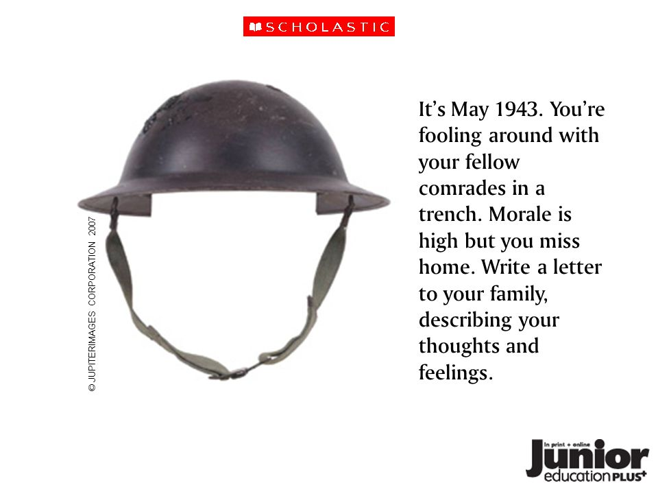 It's May 1943. You're fooling around with your fellow comrades in a trench.