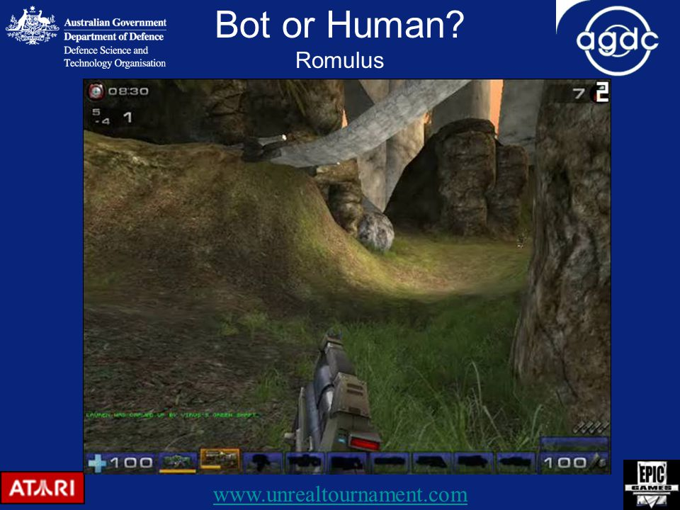 Bot or Human Romulus www.unrealtournament.com