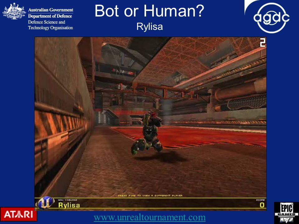 Bot or Human Rylisa www.unrealtournament.com