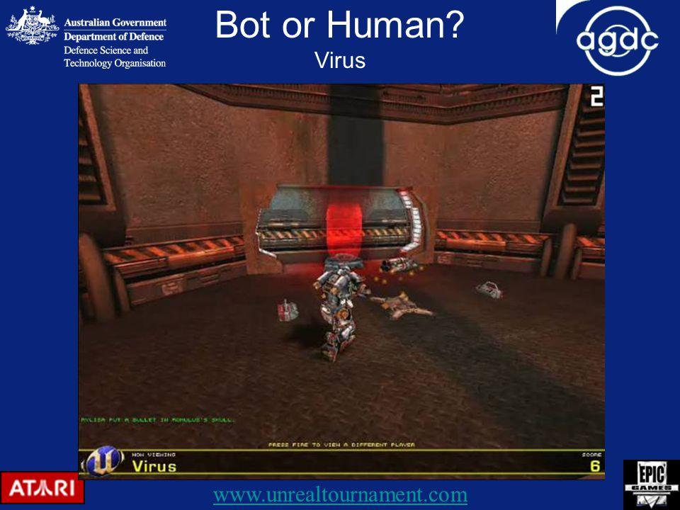 Bot or Human Virus www.unrealtournament.com