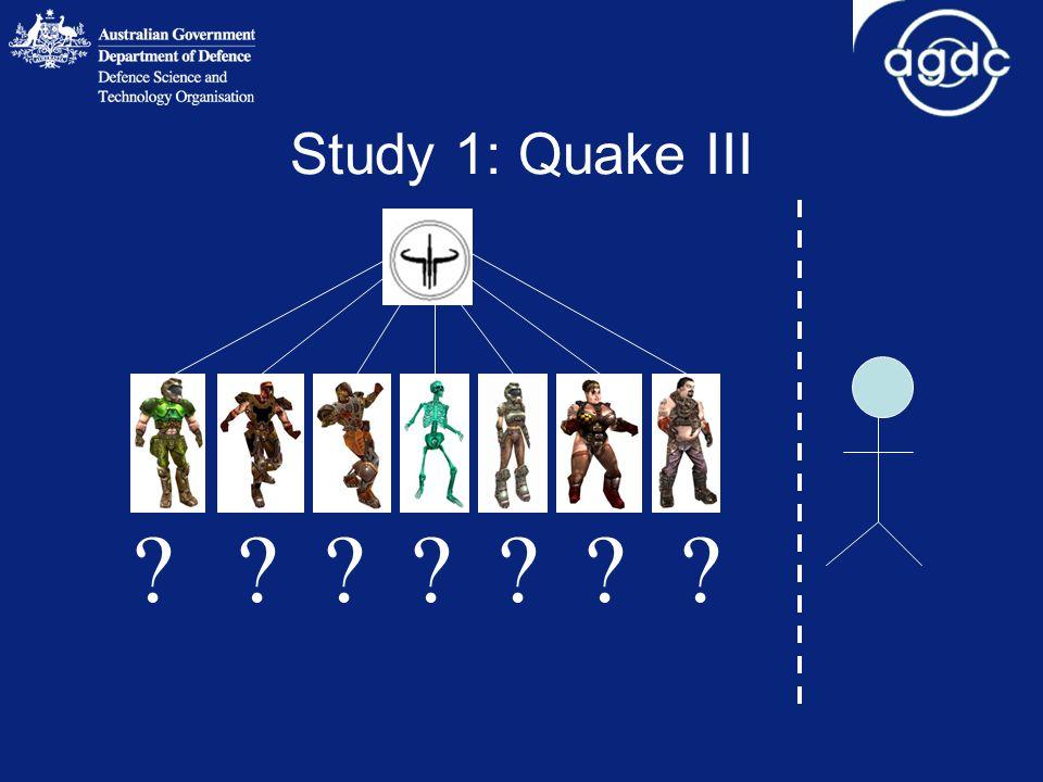 Study 1: Quake III