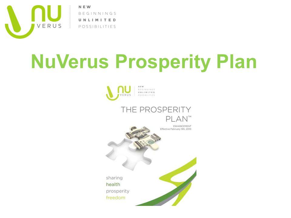 NuVerus Prosperity Plan