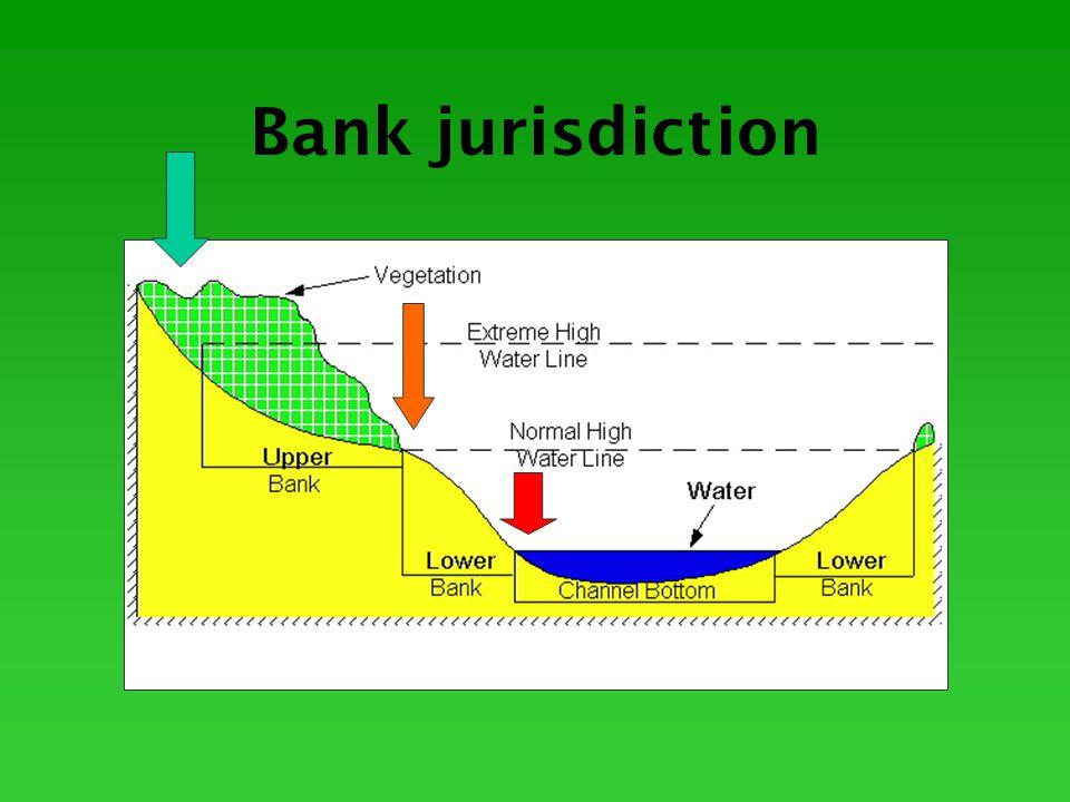 Bank jurisdiction