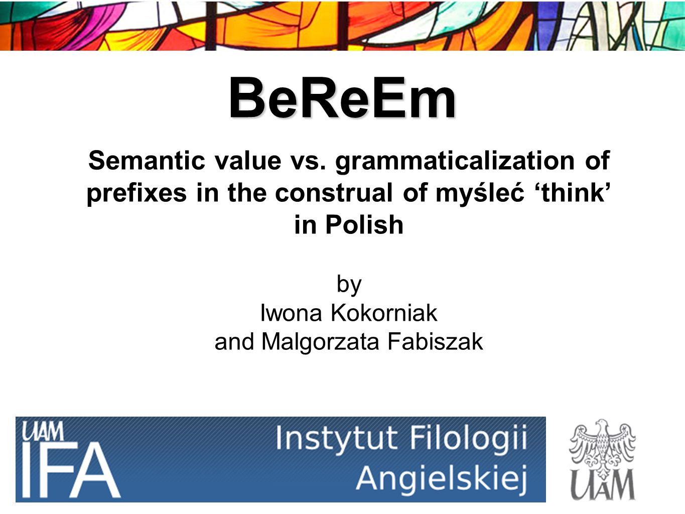 BeReEm Semantic value vs.