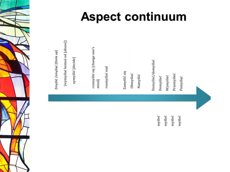 Aspect continuum