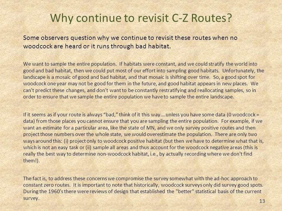 What is a C-Z Route.