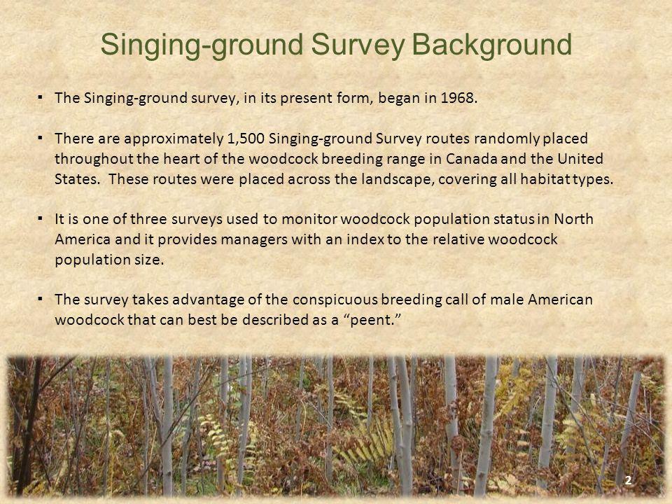 Singing-ground Survey (SGS) Participants U.S.