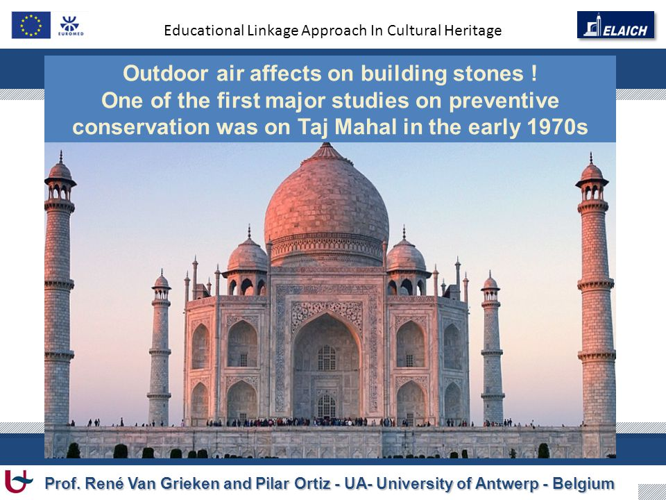 Educational Linkage Approach In Cultural Heritage Prof.