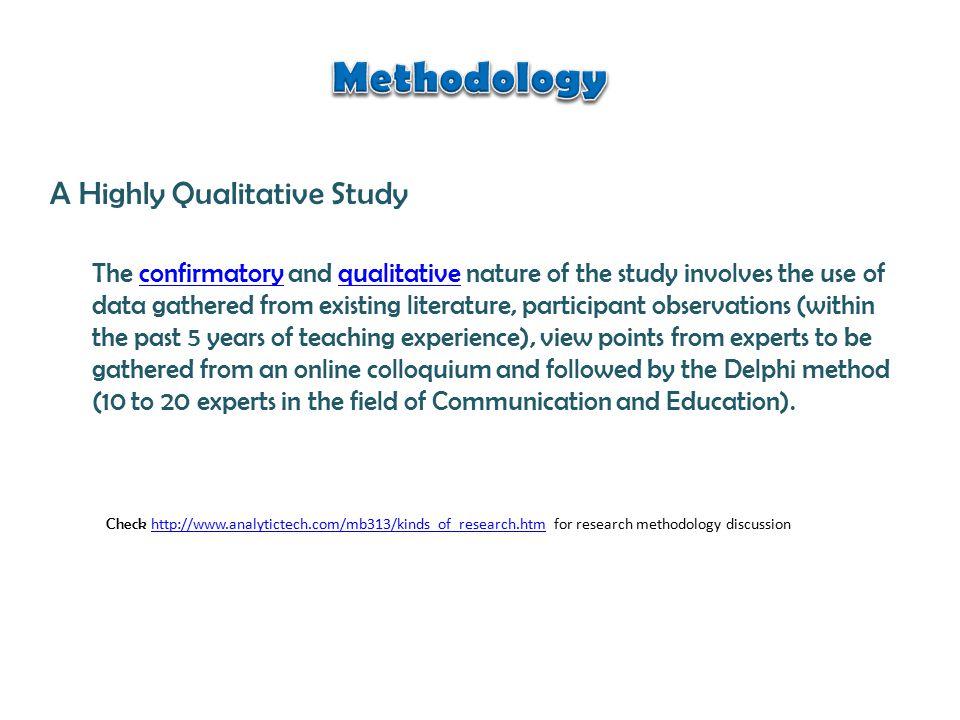 The Study Framework Instruction = Communication