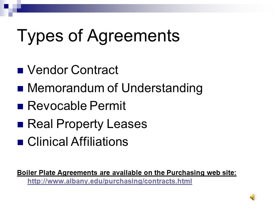 Office Of Purchasing and Contracts Procurement Outreach Training Level II - Module C Specialized Agreements