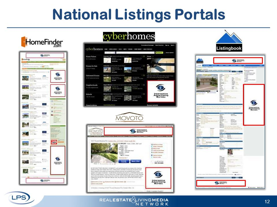 National Listings Portals 12