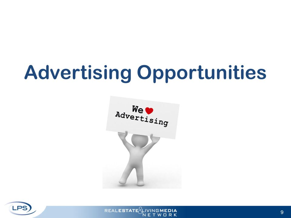 9 Advertising Opportunities