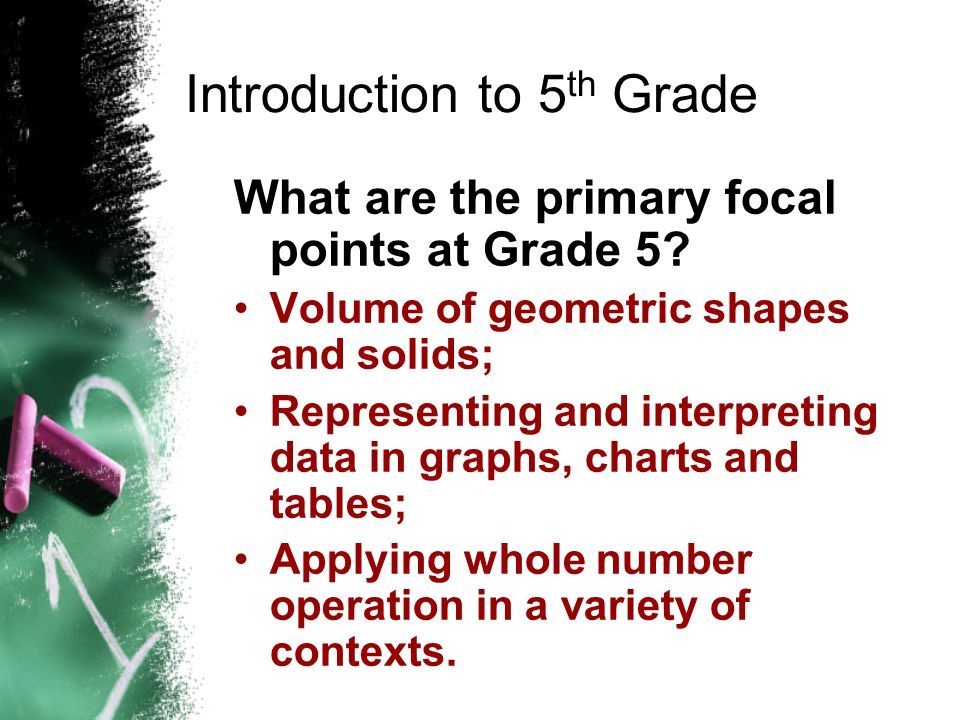 Knowledge and Skills Six Strands of K-8 Mathematics Number, Operation and Quantitative Reasoning Patterns, Relationships and Algebraic Thinking Geomet