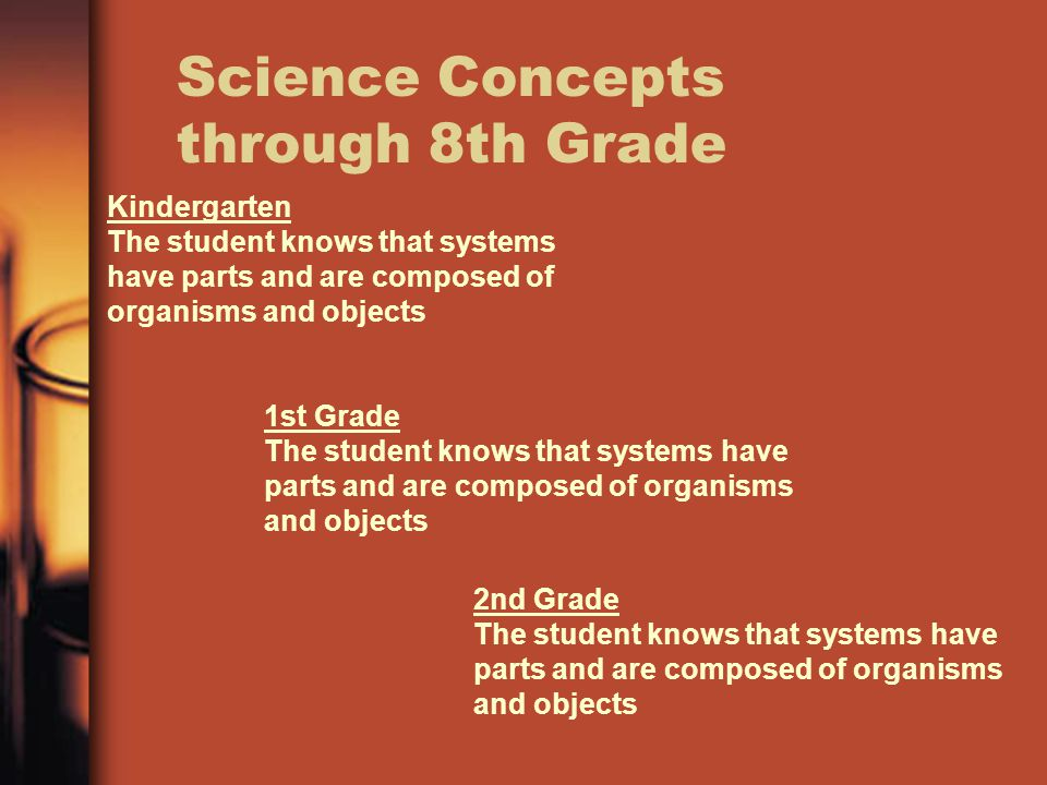 TEKS Travels through Curriculum One strand will travel from kinder through twelfth grade, the only difference is the amount of information or detail t
