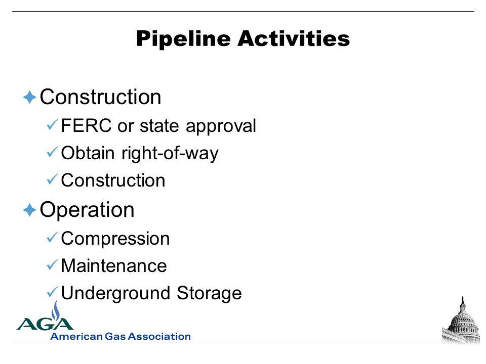 Pipeline Transmission System Photo courtesy of FERC
