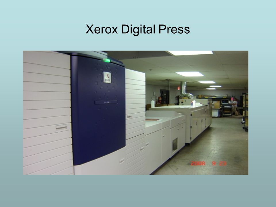 Xerox Digital Press