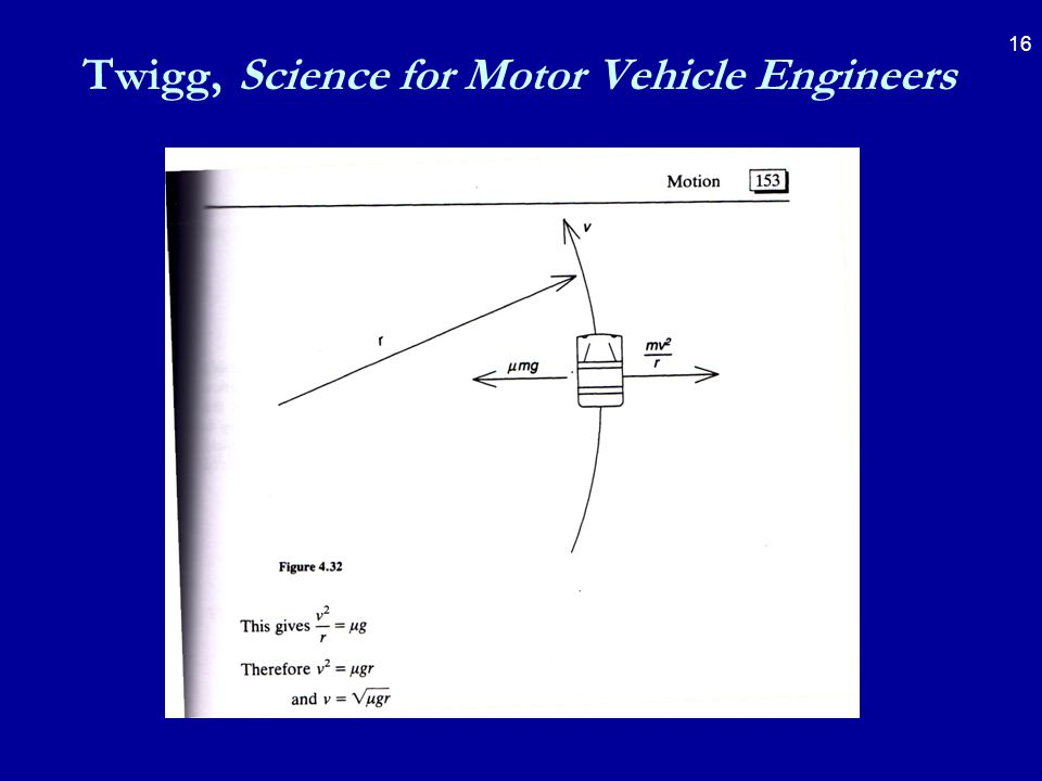 16 Twigg, Science for Motor Vehicle Engineers