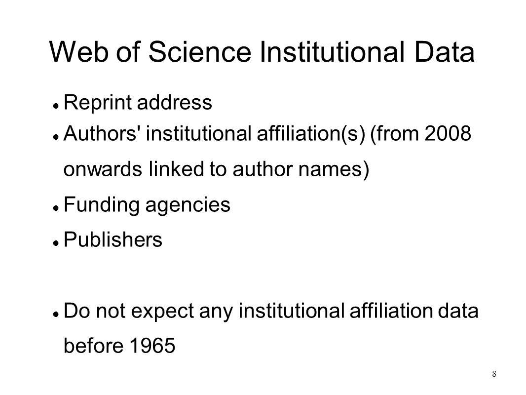 9 Sample document (from Scientometrics 2008)