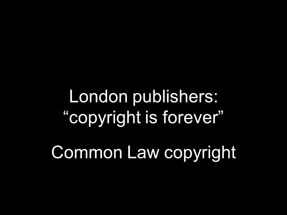 Com Common Law copyright