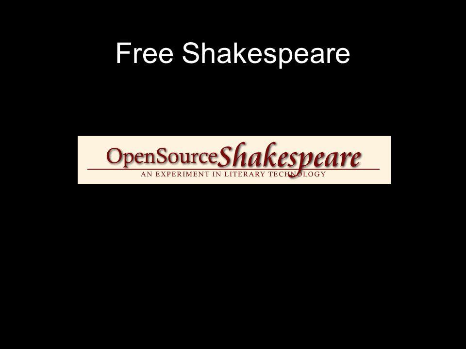 Free Shakespeare