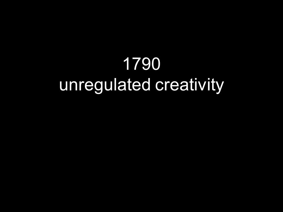 1790 unregulated creativity printing free derivatives 14 years