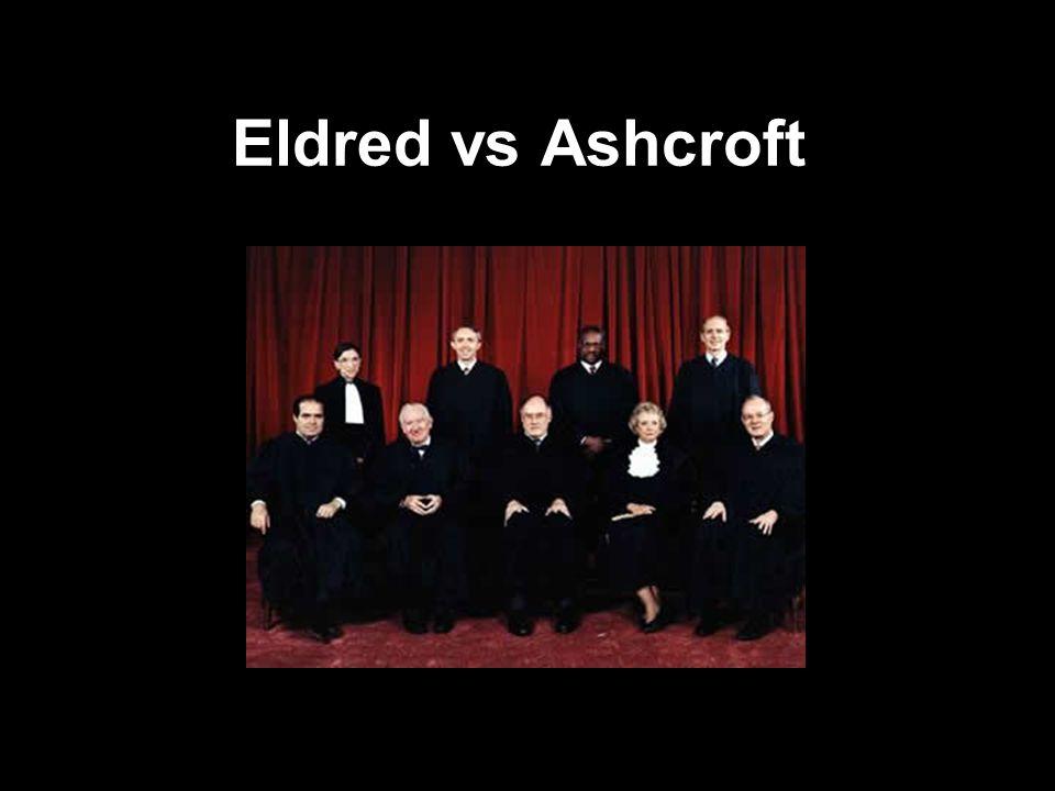 Eldred vs Ashcroft