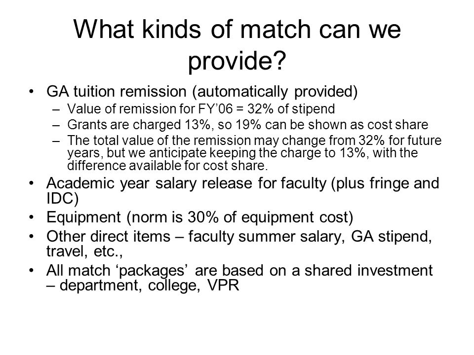 What kinds of match can we provide.