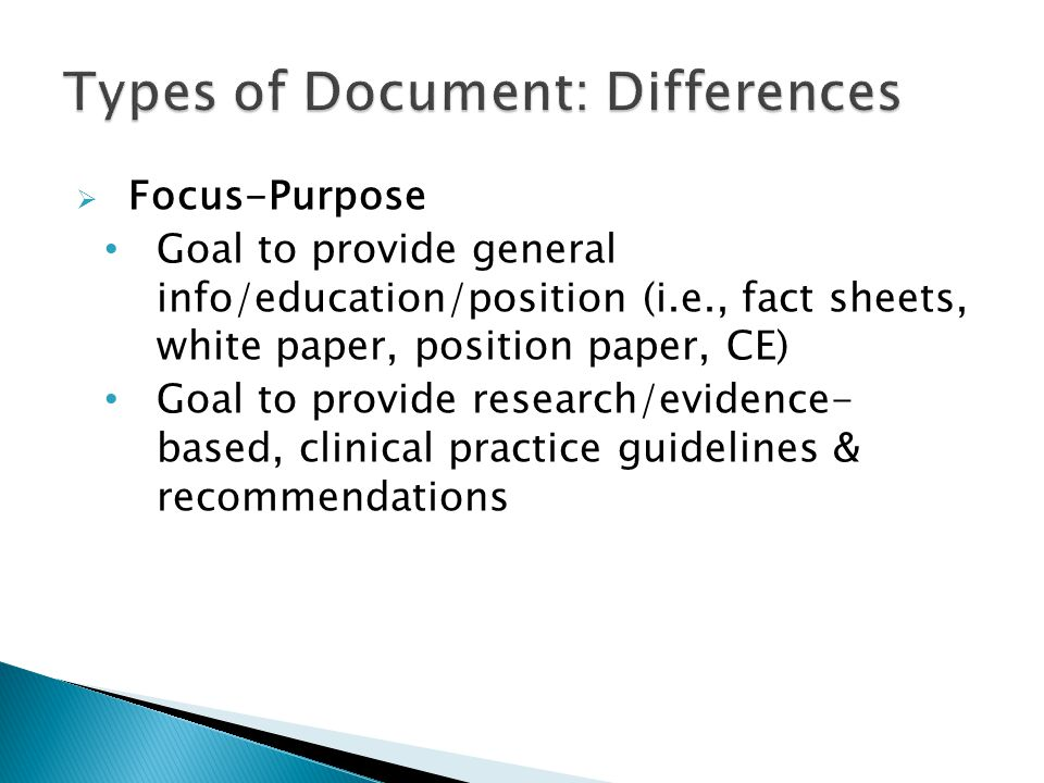  Citations for PowerPoint Slides Cite source within text on slides for research findings, facts, figures, statistics, unusual/new information Reference list at end of slides Need citations from current, reliable sources to substantiate answers to CE test questions Note: Test questions should derive from objectives