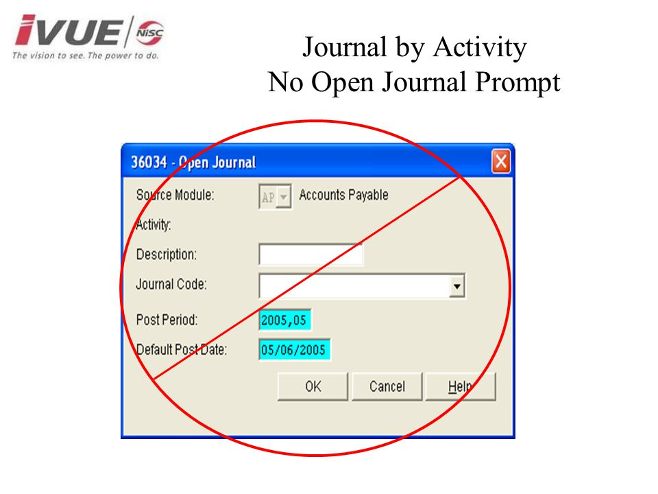 Journal by Activity No Open Journal Prompt