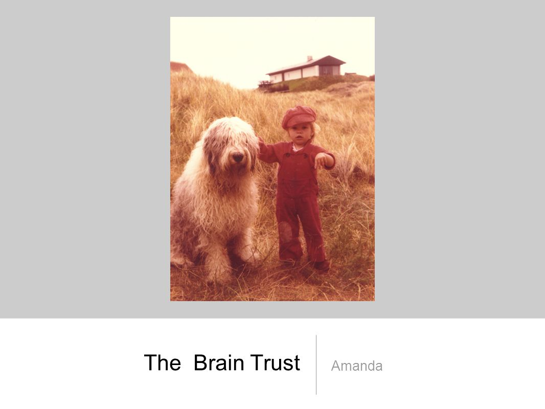 The Brain Trust Amanda