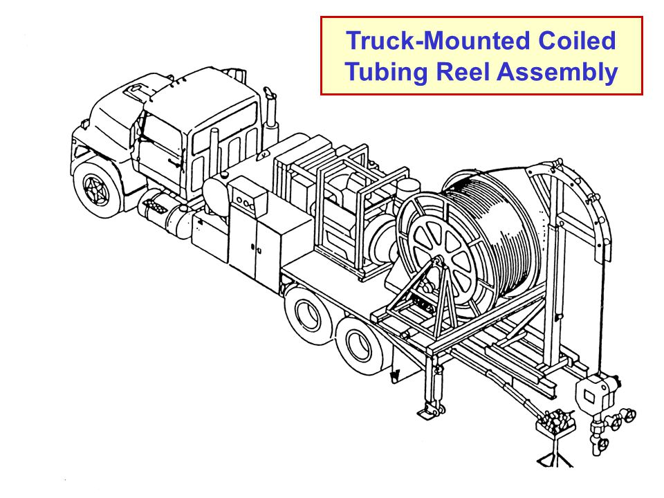 5 Coiled Tubing Reel Assembly