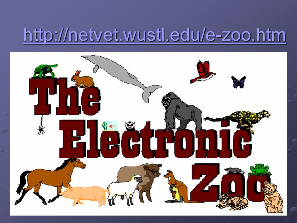 http://netvet.wustl.edu/e-zoo.htm
