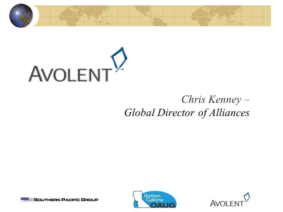 Chris Kenney – Global Director of Alliances