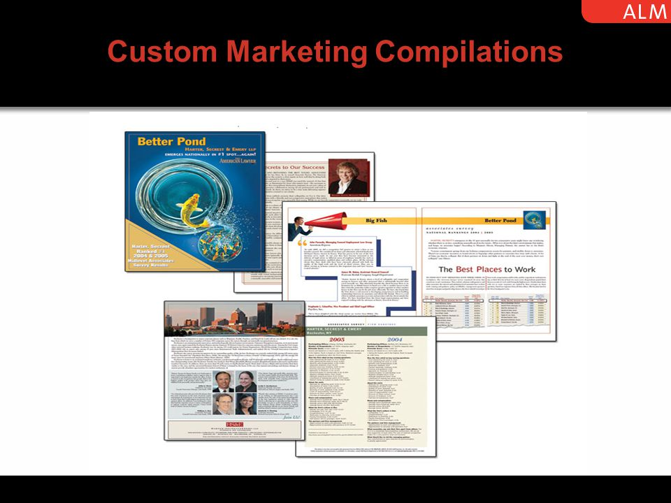 Custom Marketing Compilations